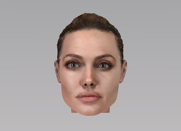 angelina jolie 3d model