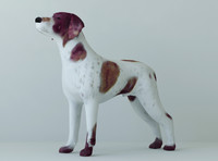 3d dogs unwrapped model