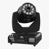 led fog machine citc 3d max
