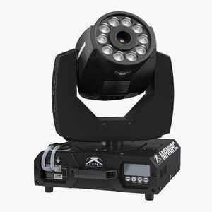 led fog machine citc 3d max