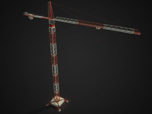 3ds tower crane