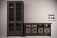 3d max ikea china cabinet
