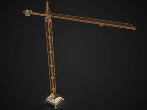 tower crane 3d 3ds