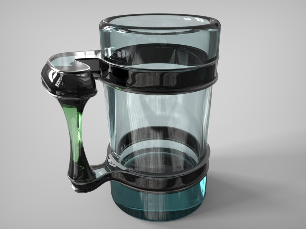 mug coffee 3d 3ds