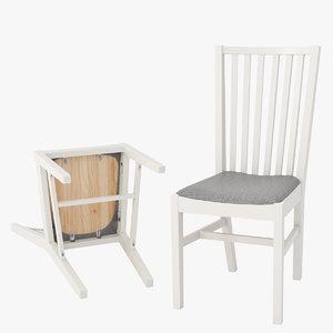 norrnas chair 3d model