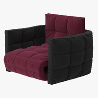fauteuil design modulable cosy 3d model