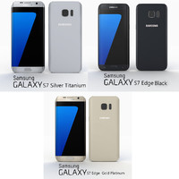 Samsung Galaxy S7 Edge in all colours