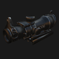 Optical sight ACOG
