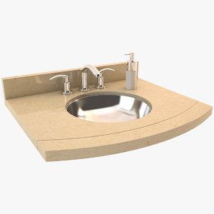 max luxury bathroom sink