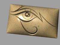 eye relief eye 3d model