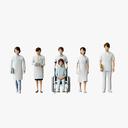 nurse 3D models