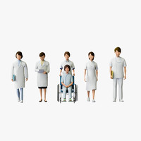 Medical People 01(Nurse,Doctor)