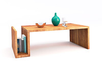 coffee table 3d obj