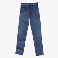 3d jeans design model