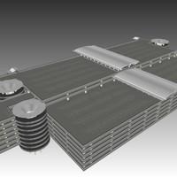 rdu parking deck 3d 3ds