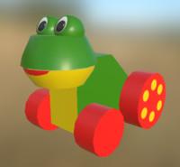 Wheely Frog
