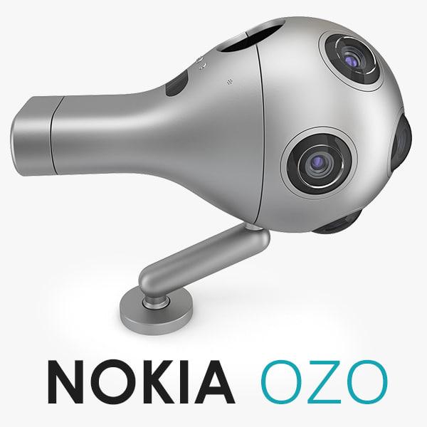 video camera 3d model