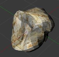 rock 3d blend