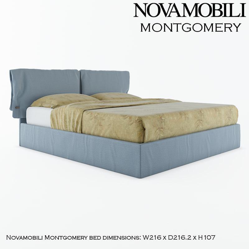 novamobili montgomery 3d model