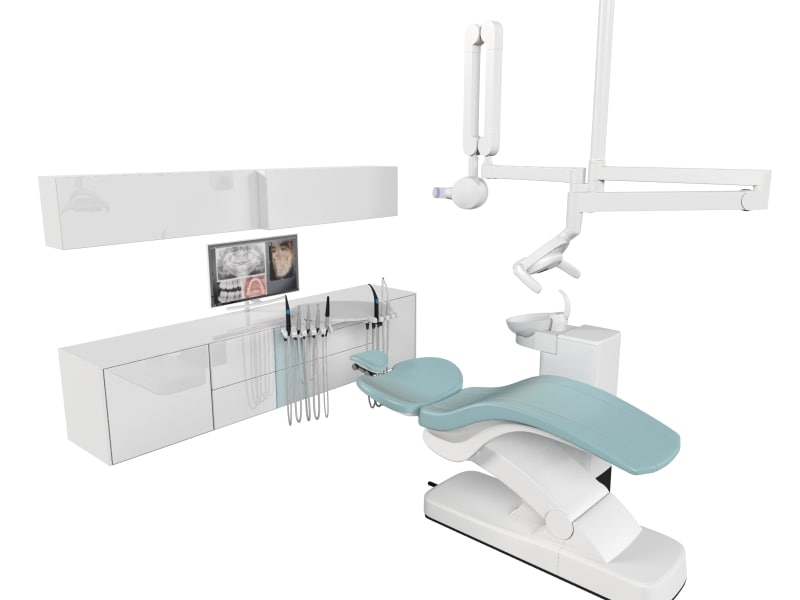 sirona intego dental chair 3d max