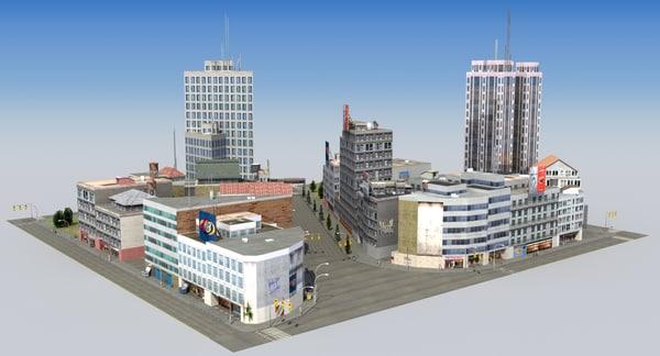 dwg hdrt city block b