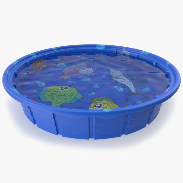 kiddie pool 3d max