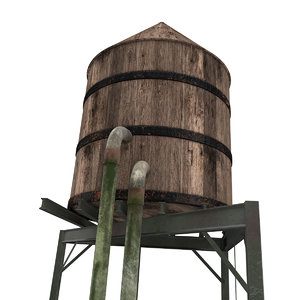 x water tower