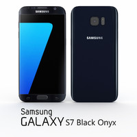 3d samsung galaxy s7 black