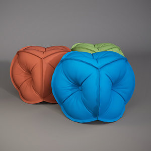 effectivepoly rolf benz pouf 3d max