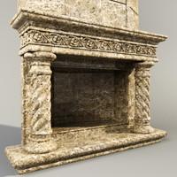 Classic Fireplace 08