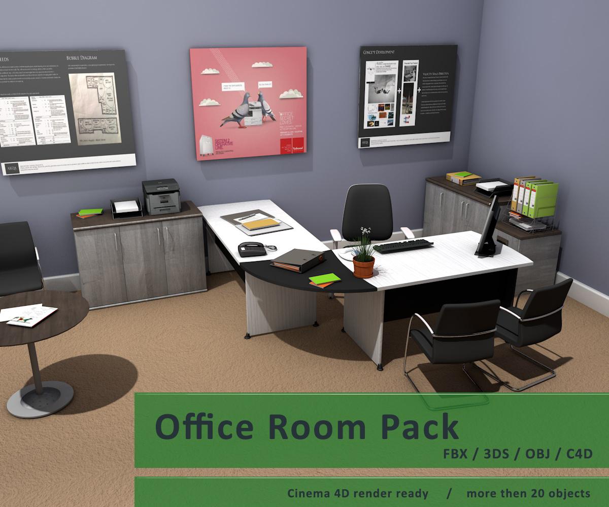 Awe Inspiring Office Room Pack 2 Forskolin Free Trial Chair Design Images Forskolin Free Trialorg