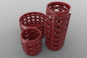 vase set 3d max