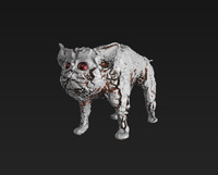 Rusty Cyber Cat PBR Material