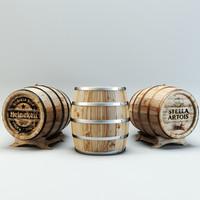 Beer cellar barrels