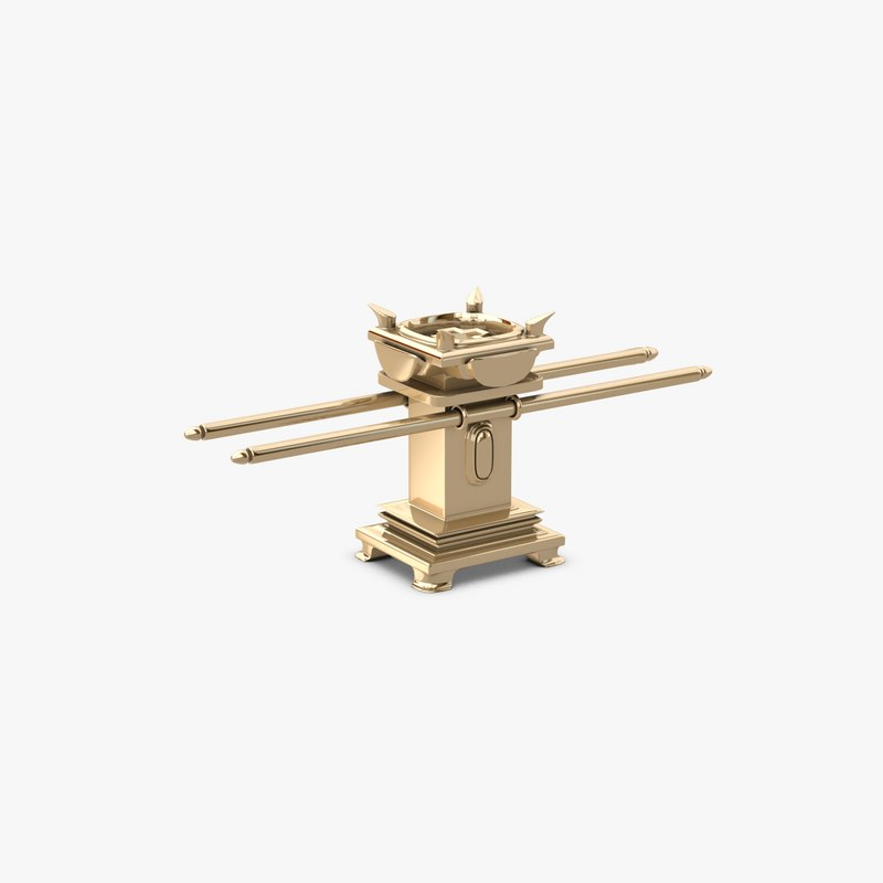 c4d golden altar incense tabernacle