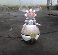 pokemon magearna 3d c4d