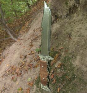 military knife 3d x
