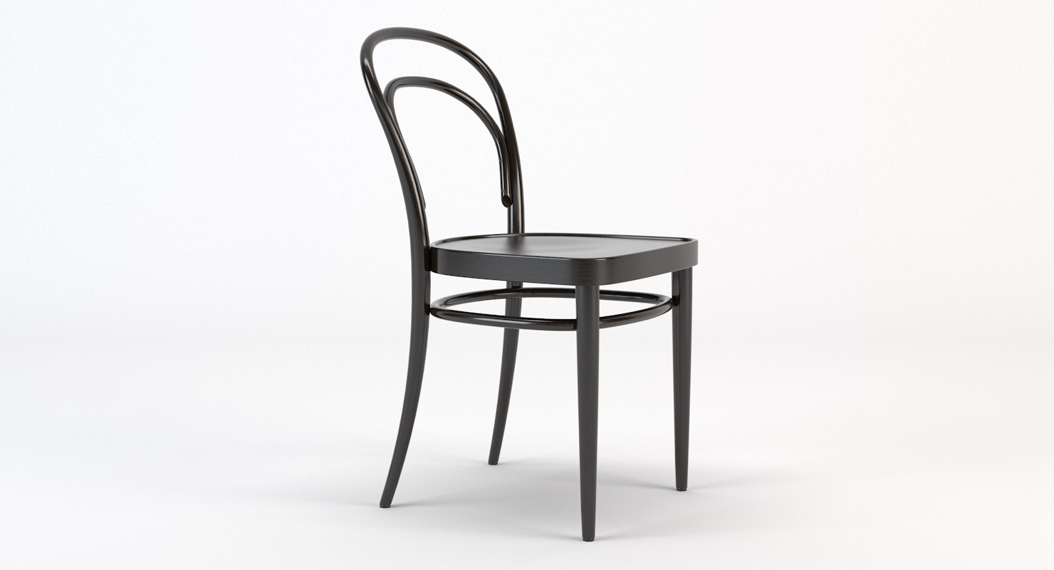 3d Model Thonet Chair 214