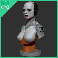 Female Scifi Bust