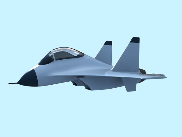 3d cartoon su27 su30