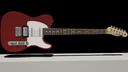 3d model fender telecaster guitar