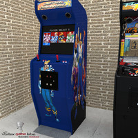 Arcade Machine Captain Commando
