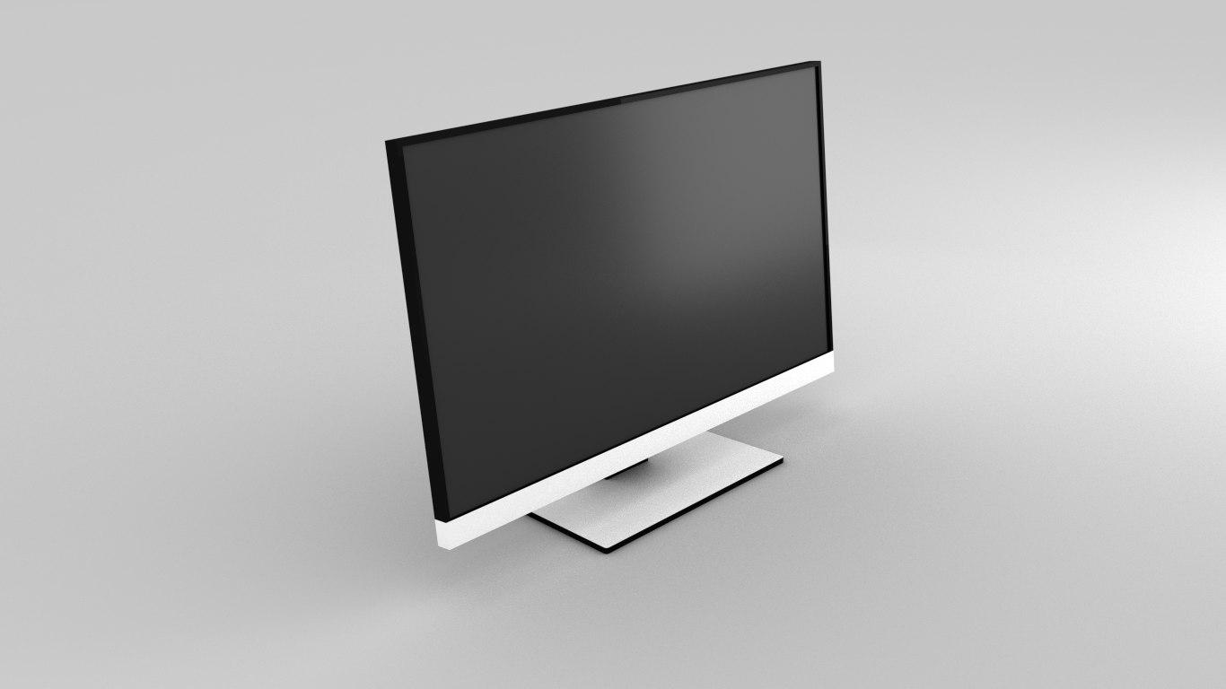 free obj model 27 inch monitor