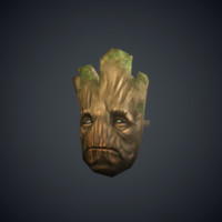 groot ready mask 3d model
