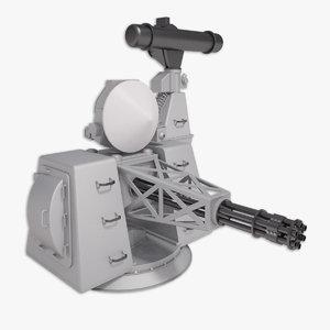 goalkeeper close weapon 3d model