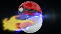 3d model ball poke