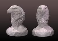 eagle bust