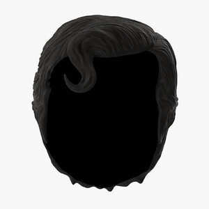 3d superman hair model