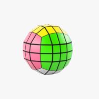 Rubik's cube 4x4x4 ball