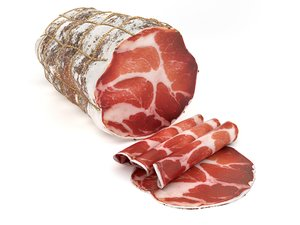 sausage capicola 3d model